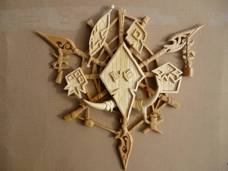 The Troll Crest from World of Warcraft