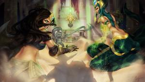 League of Legends Face-Off Fanart Contest Entry