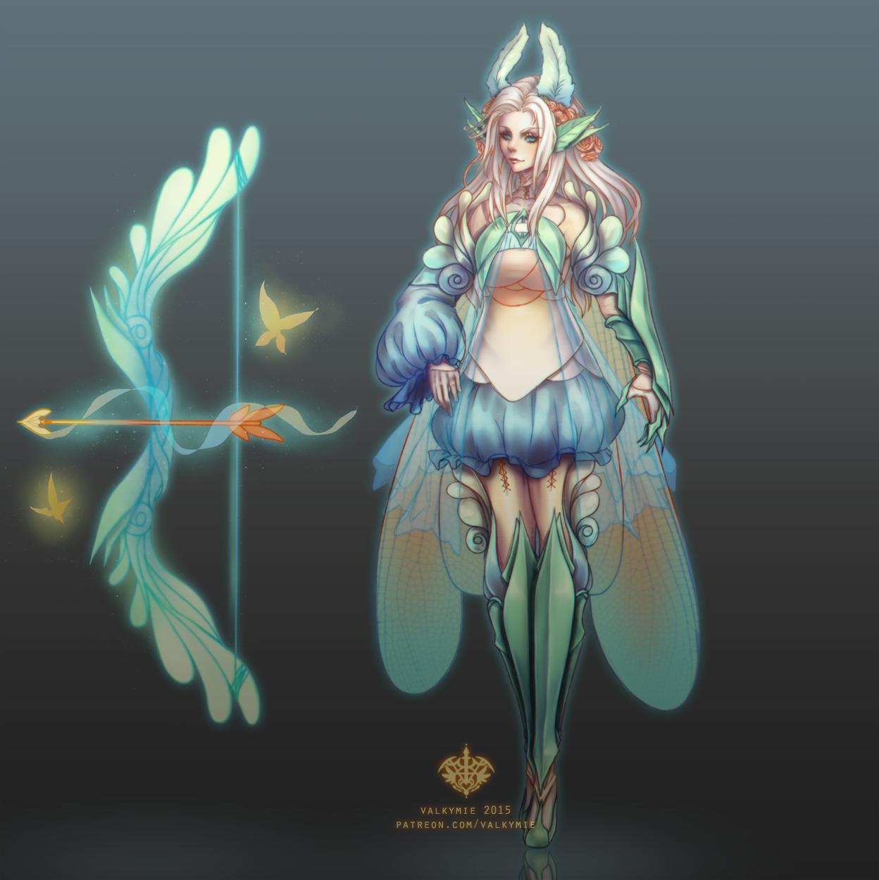 skin concept fairy ashe