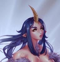 [C] frlmng Unicorn Girl by Valkymie