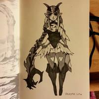 Inktober #31 by Valkymie