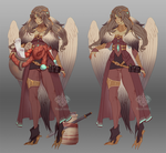 Faulty Apprentice Merchant Design Contest Entry #1 by Valkymie