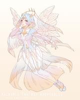 [CLOSED|HB:$100] Pastel Angelic Priestess Adopt by Valkymie