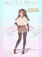 [SOLD] Half-Elf Novice by Valkymie