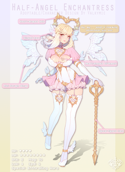 [SOLD] Half-Angel Enchantress