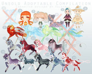 [OPEN|50%off!] UNSOLD ADOPTS (Feb2019) by Valkymie