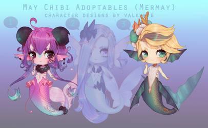 [OPEN PriceDropFinal] Mermay Chibi Batch Adopts