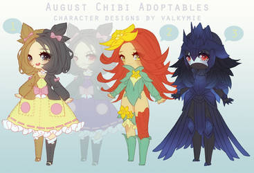 [OPEN] August Batch Adopts (Pokemon Gijinkas)