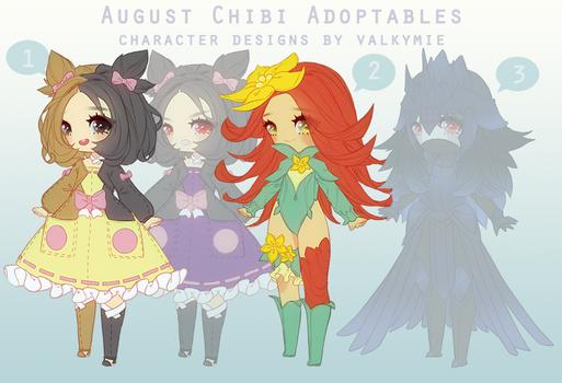 [OPEN|PRICE DROP 2] Aug Adopts (Pokemon Gijinkas)