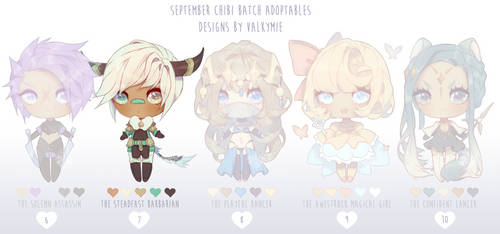 [OPEN|Price Drop2] Sept Batch Adopts 2