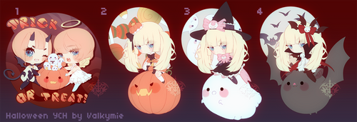 [1/3 Filled] 2019 Halloween YCH