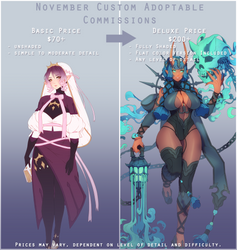 [OPEN|4/8] November Adopt Commissions