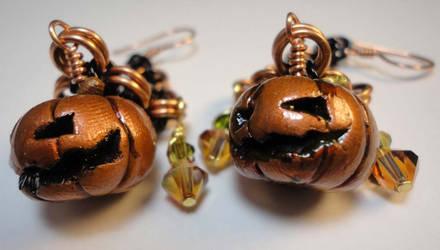 Twin Jack Earrings by Krystalchains