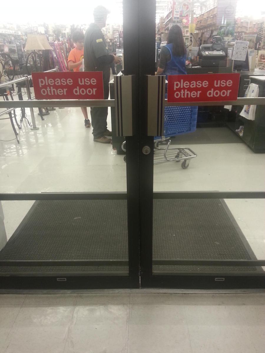 Where do I enter?!? by Annaley