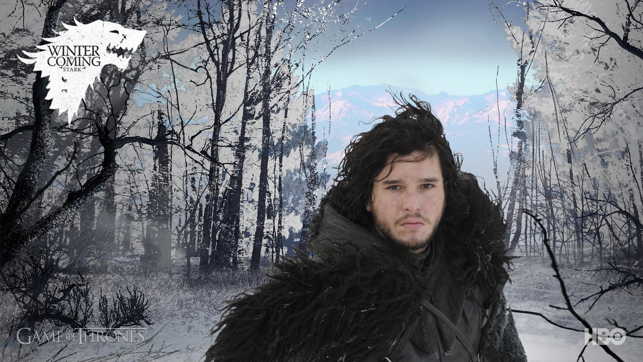 Jon snow game of thrones v2 by askilletpanhead