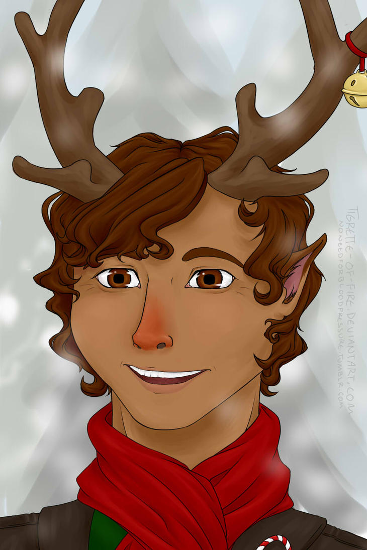 Rudolph by Tigrette-of-Fire