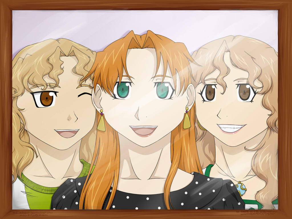 Gift: Amigas y Hermanas by Tigrette-of-Fire