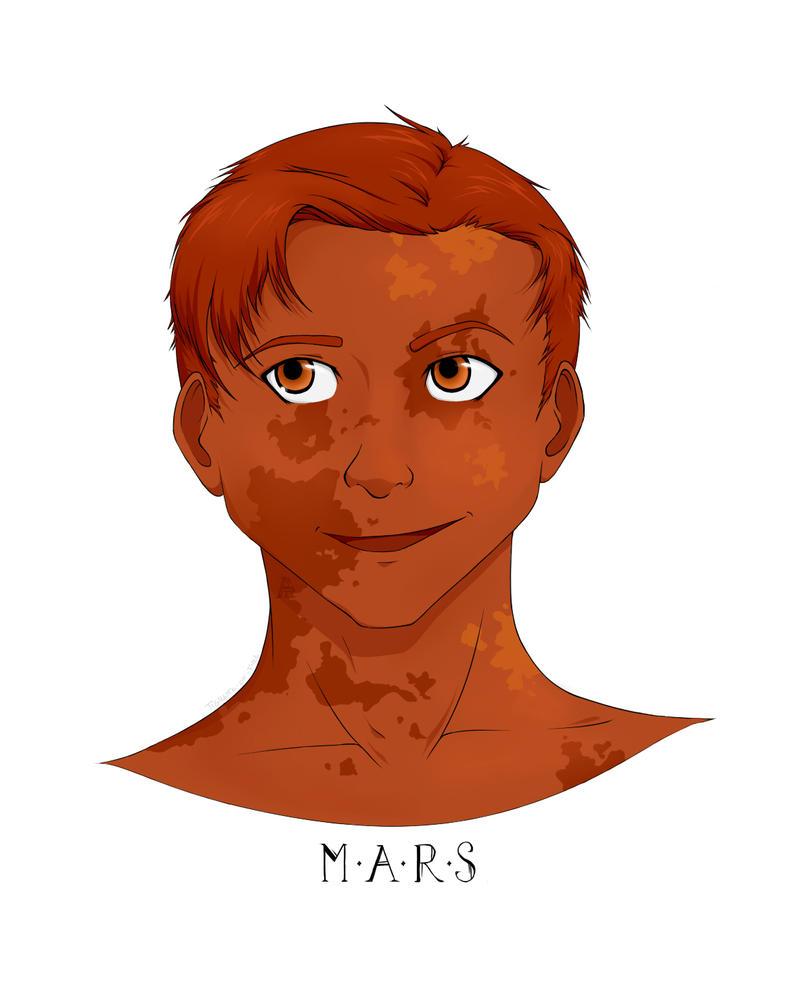 Mars by Tigrette-of-Fire