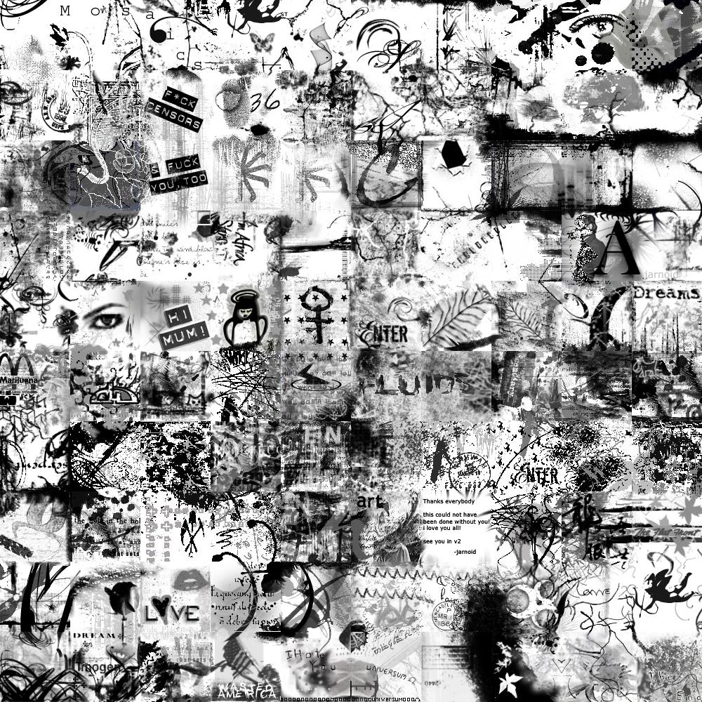BW Grunge by deviousmosaics