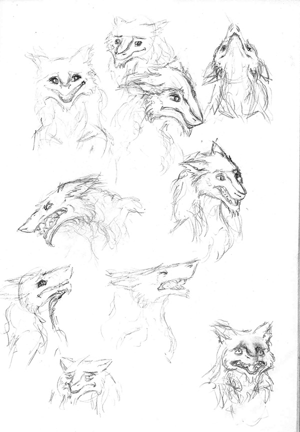 Sketchbook Sergals by Vilest