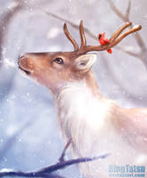 Merry Christmas ( 2015 edited ) by BingTatsu