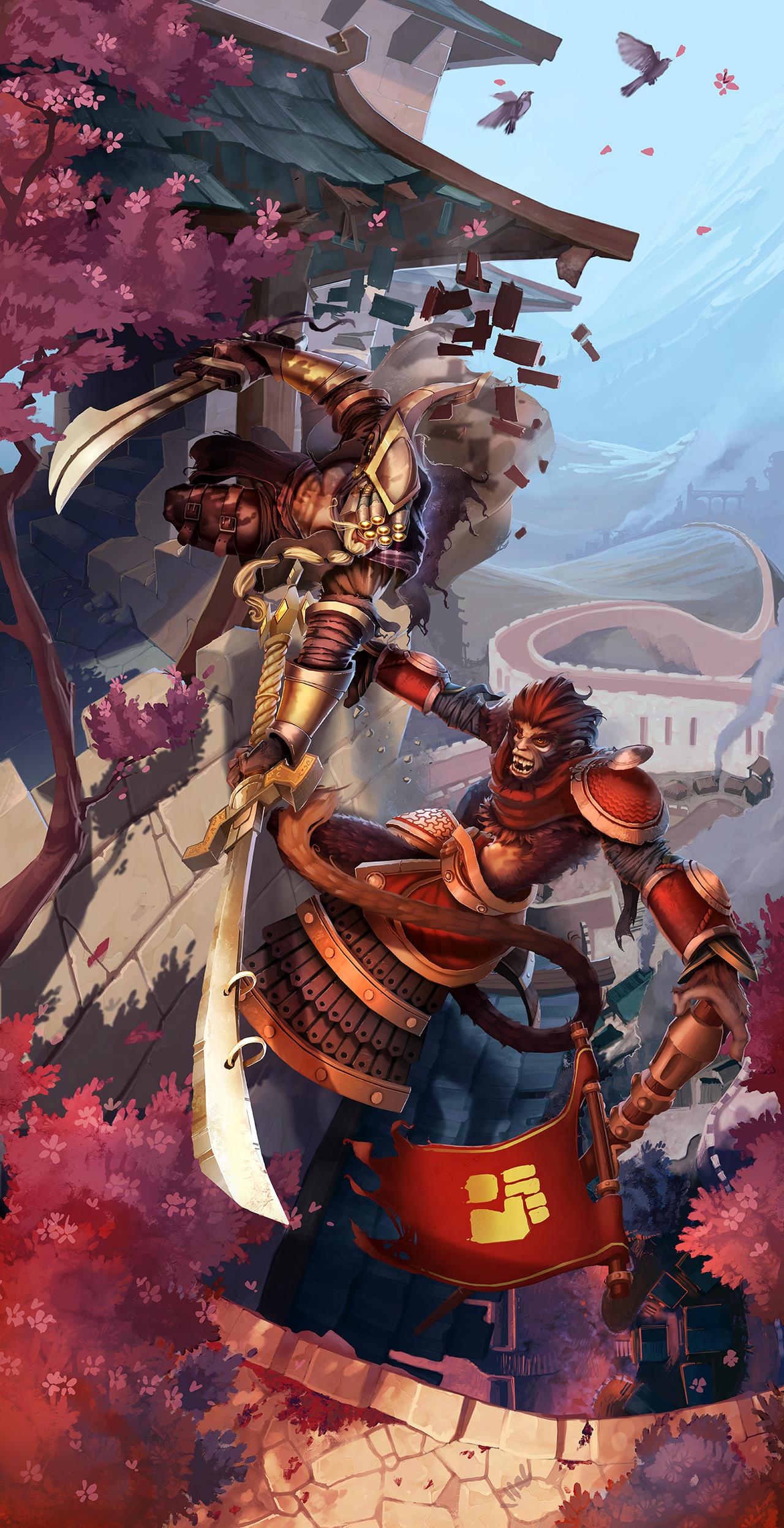 League Of Legends - Wuju Style by Anarki3000