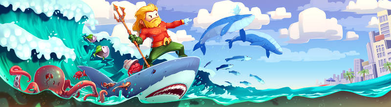 Aquaman by Anarki3000