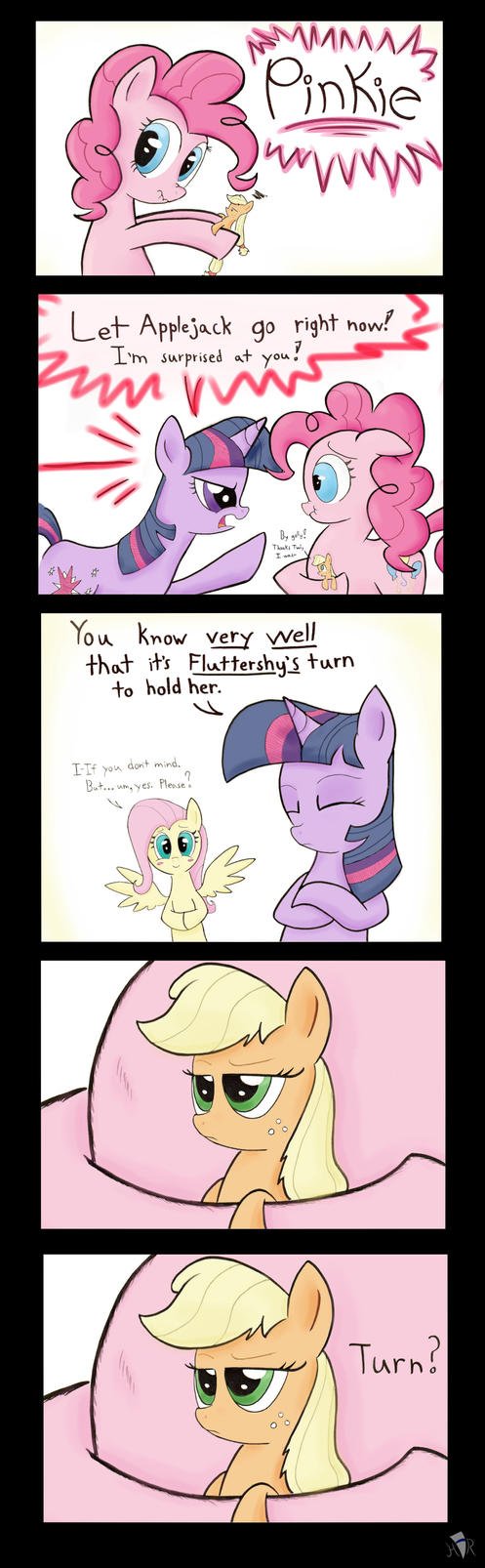 Applejack's Poison Joke Adventure Part 2 by Heir-of-Rick
