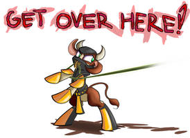 Them's Fightin' Herds: GET OVER HERE