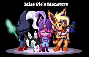 Miss Pie's Monsters Undertale by Heir-of-Rick