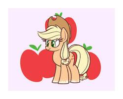 Applejack by Heir-of-Rick