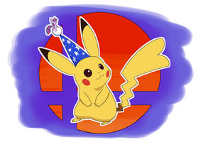 Party Hat Pikachu (Plus one)