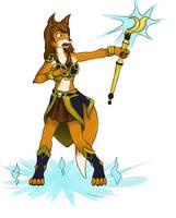 Sketch: Magic vixen power up
