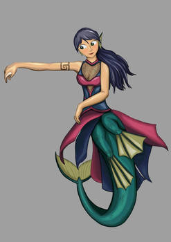 Practice- Dancing mermaid