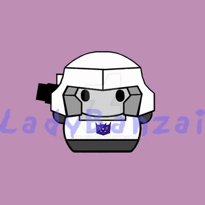 Megatron by LadyBanzai