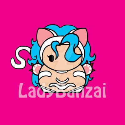 Felicia Sanrio-style Chibi by LadyBanzai