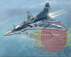 HF-3 Karasu Tengu by Hoborginc