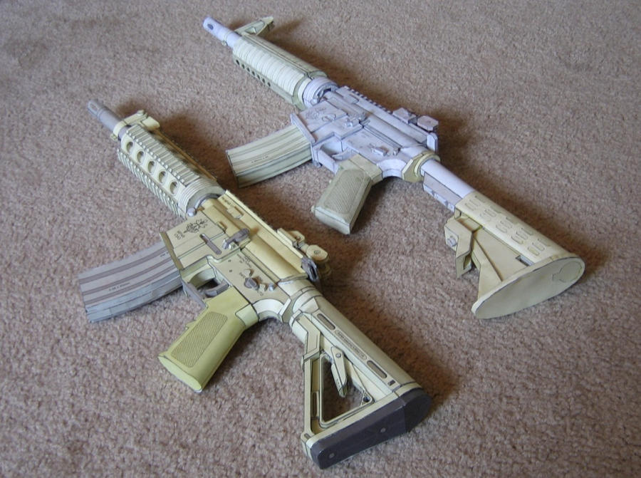 how to make a fully automatic paper gun