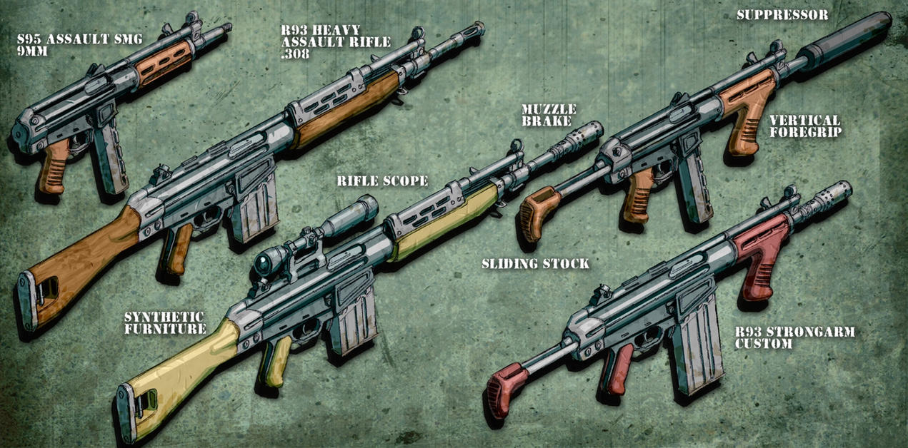 fallout 76 handmade rifle mods r91 relatives by hoborginc on deviantart 4946