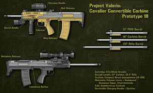 Project Valerio: 3C 1B by Hoborginc