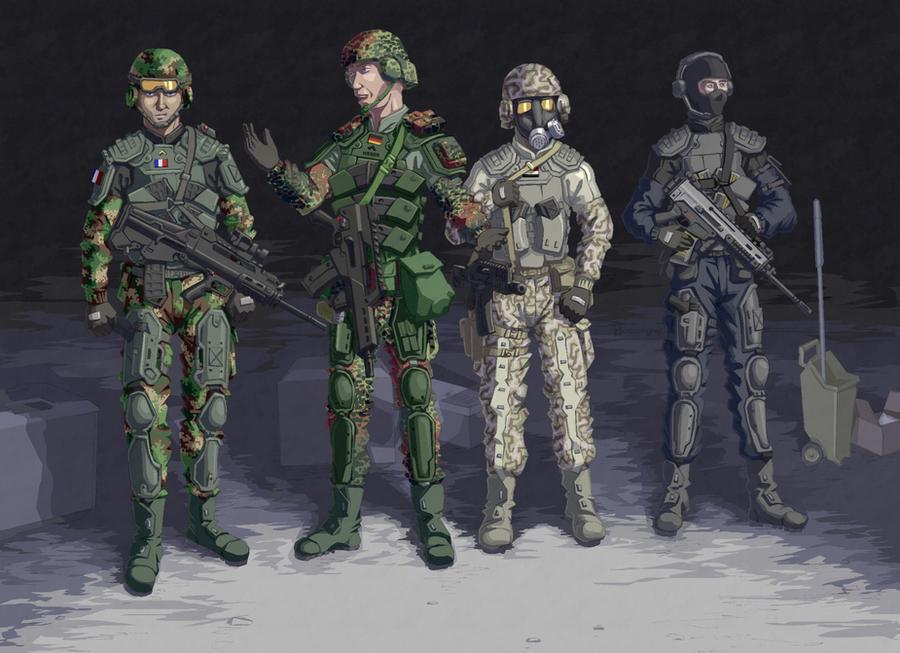 Unified Duty Gear by Hoborginc