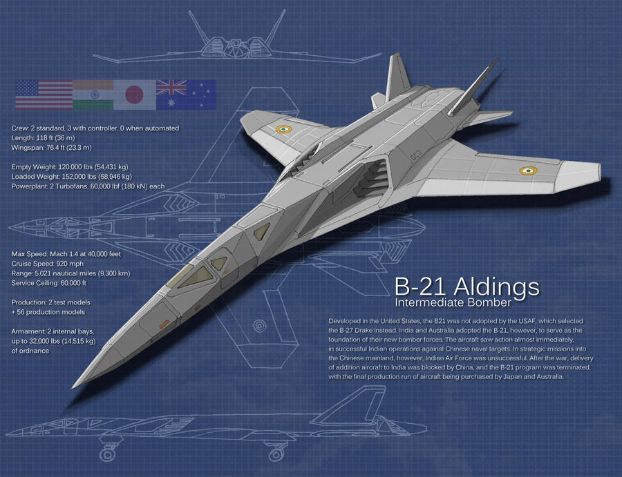 B-21 Aldings by Hoborginc