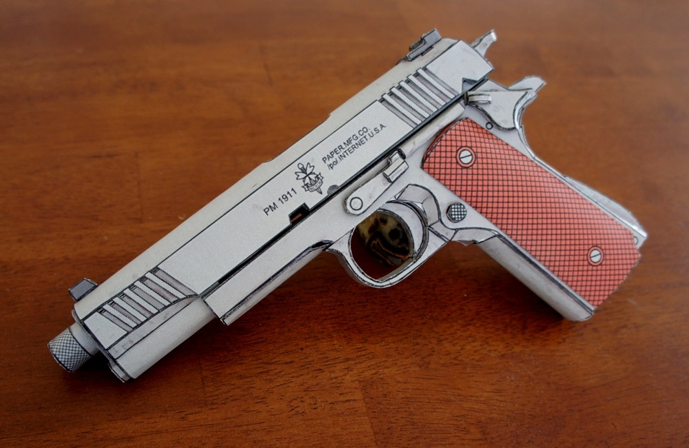PM 1911 - New Slide on Old Frame by Hoborginc on DeviantArt