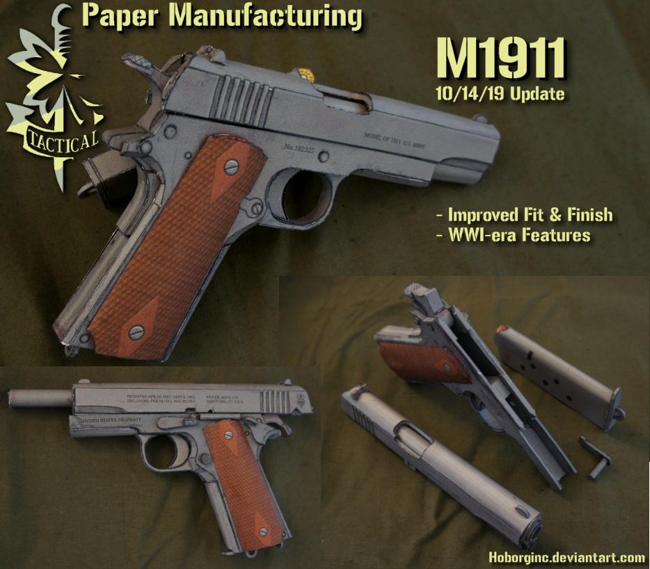 PM 1911 by Hoborginc