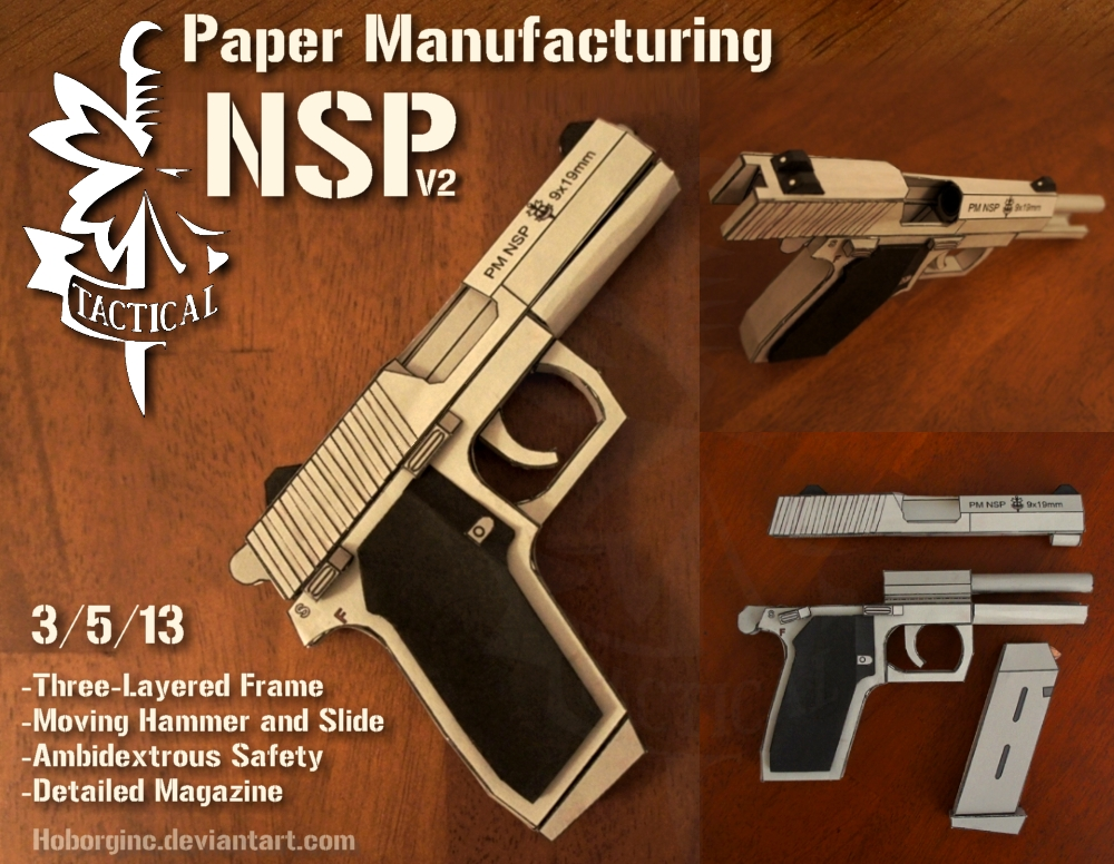 PM NSP V2 Inox by Hoborginc