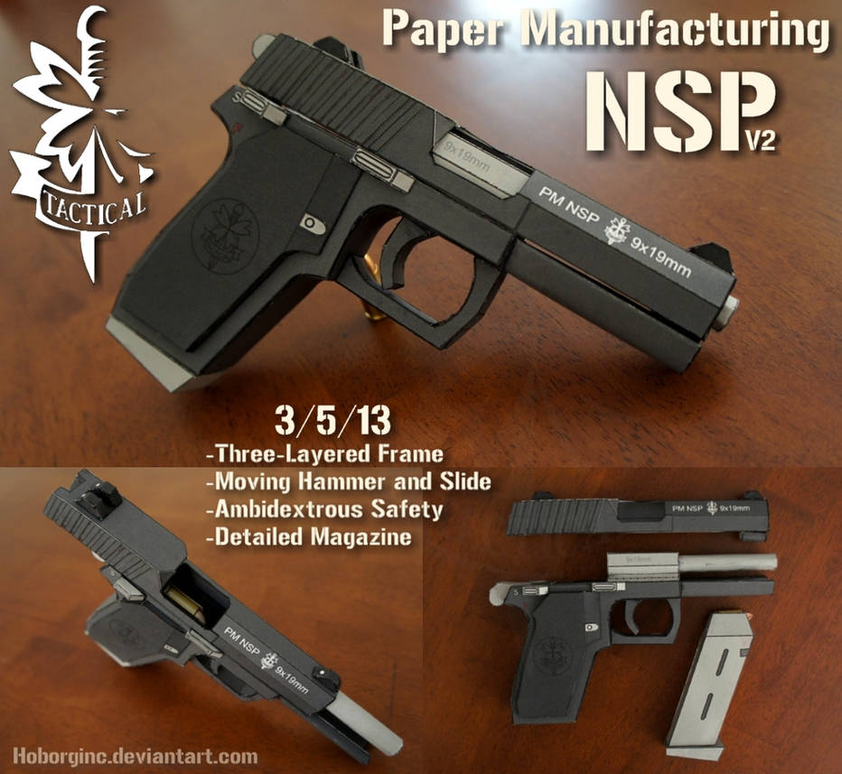PM NSP V2 Black by Hoborginc