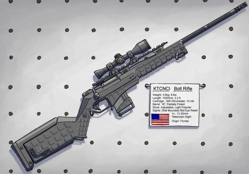 KTCNCI Bolt Rifle by Hoborginc