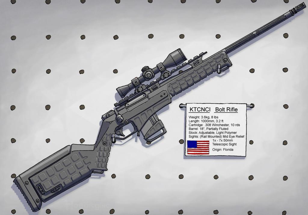 KTCNCI Bolt Rifle by Hoborginc