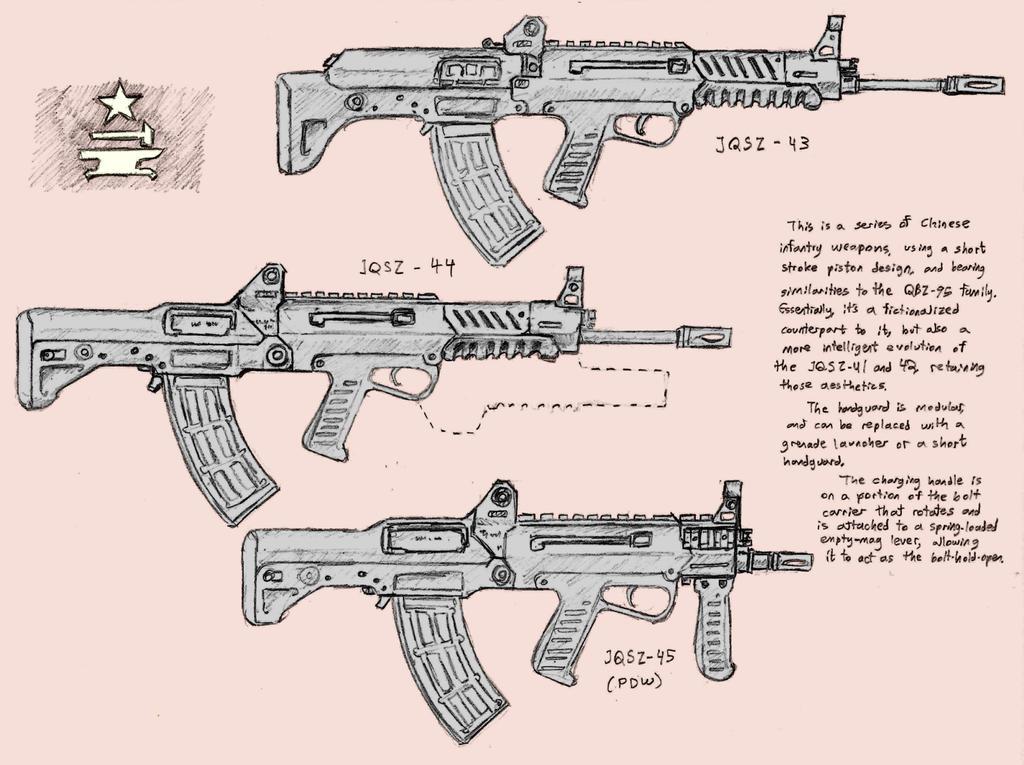 JQSZ-43, 44, 45 by Hoborginc