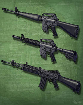 Assault Rifles (In the Cold) 2